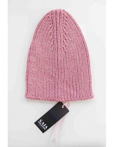 Glam beanie - Pink Lurex